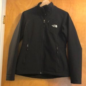 Black The North Face Jacket - small